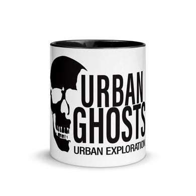 Urban Ghosts Black Logo Mug