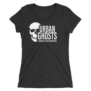 Urban Ghosts White Logo Tee - Women Fitted (11 Colors)