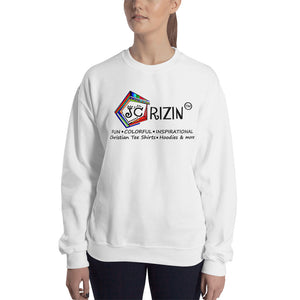 "JC Rizin Brand ""Logo"" Unisex Sweatshirt. Available in 3 colors."