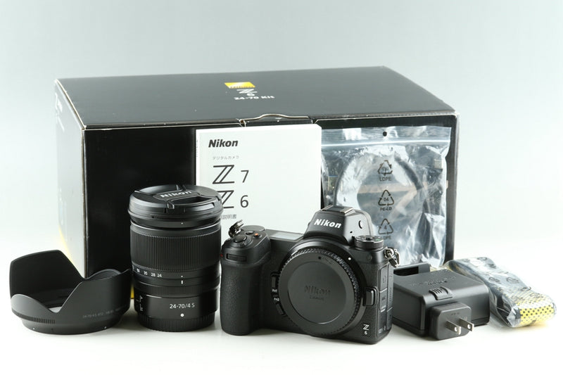 Nikon Z6 + Nikkor Z 24-70mm F/4 S Lens Kit #25404