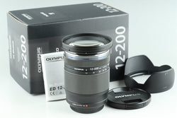 Olympus M.Zuiko Digital 12-200mm F/3.5-6.3 Lens for M4/3 With Box #24940