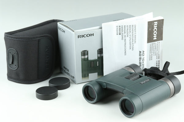 Ricoh Pentax AD 10x25 WP Binoculars With Box #24240F2