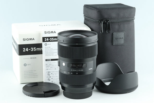 Sigma A 24-35mm F/2 DG Lens for Canon With Box #26429