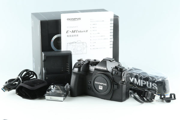Olympus OM-D E-M1 Mark II Digital SLR Camera With Box *Shutter Count 6020*#26651