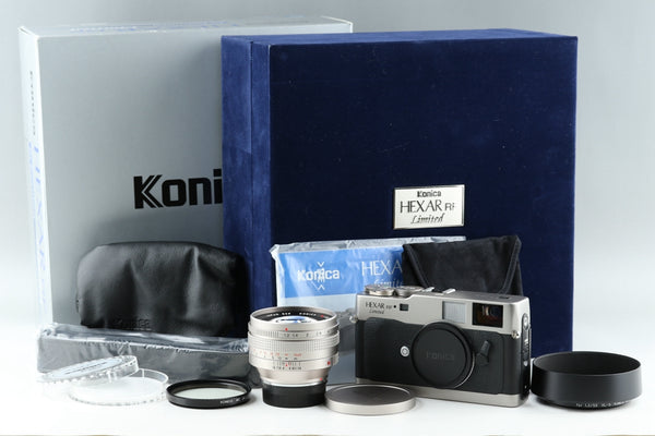 konica Hexar RF Limited + 50mm F/1.2 Lens Set with Box #19240