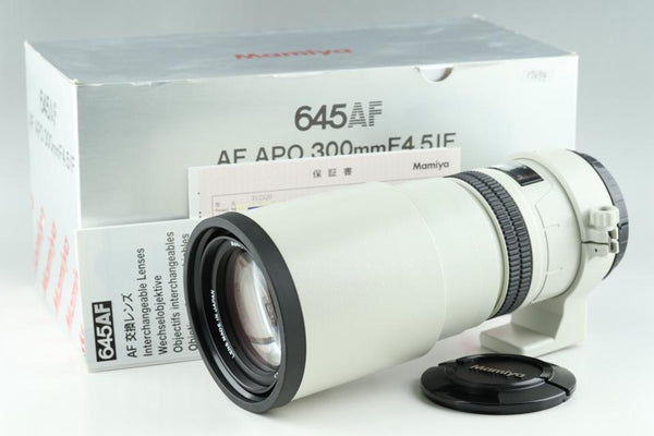 Mamiya AF Apo 300mm F/4.5 Lens for Mamiya 645AF With Box #17694