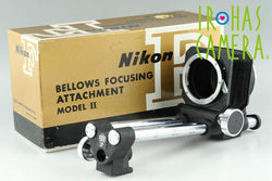 Nikon Bellows Focusing Attachment Model II With Box #18045G2