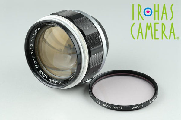 Canon 50mm F/1.2 Lens for Leica L39 #18296C1