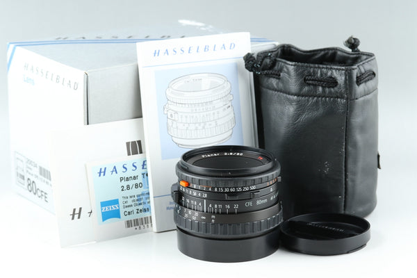 Hasselblad Carl Zeiss Planar T* 80mm F/2.8 CFE Lens With Box #T1E2