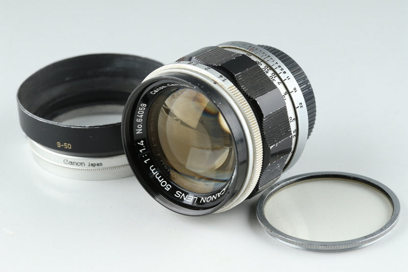 Canon 50mm F/1.4 Lens for Leica L39 #20346F4