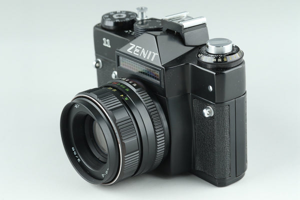 Zenit 11 35mm SLR Film Camera + Helios-44M-4 58mm F/2 Lens #18512 D5