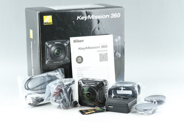 Nikon KeyMission 360 Digital Camera With Box #19686