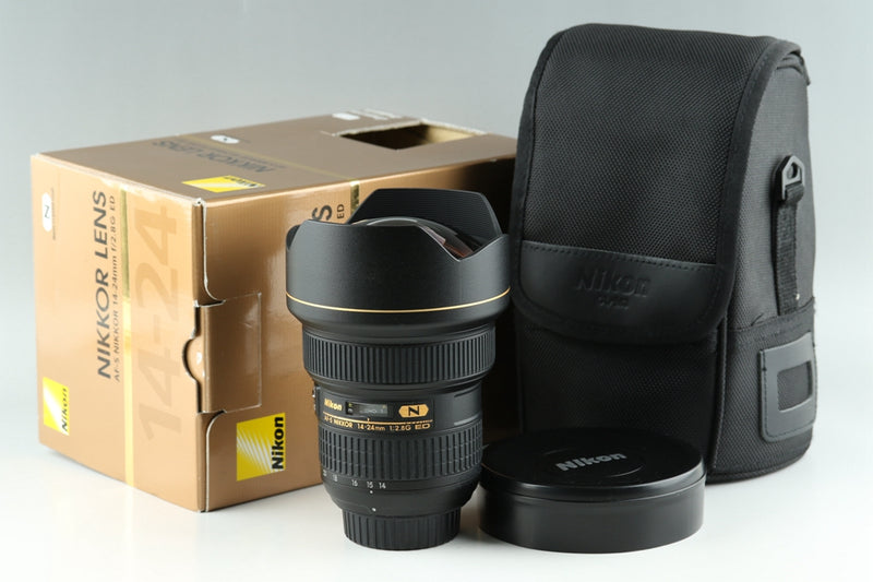 Nikon AF-S Nikkor 14-24mm F/2.8 G ED N Lens With Box #18698