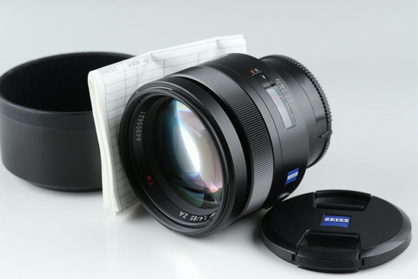 Sony Carl Zeiss Planar T* 85mm F/1.4 ZA  Lens for Sony AF #20124F5