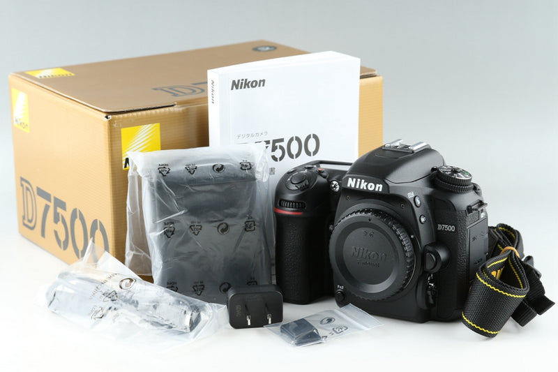 Nikon D7500 Digital SLR Camera With Box *Shutter Count 52*#19916