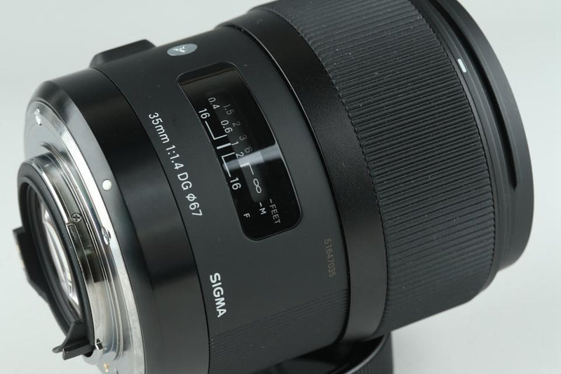 Sigma A 35mm F/1.4 DG HSM Lens for Pentax K With Box #17866G3
