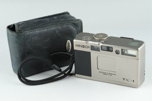 Minolta TC-1 35mm Point & Shoot Film Camera #20980 D1
