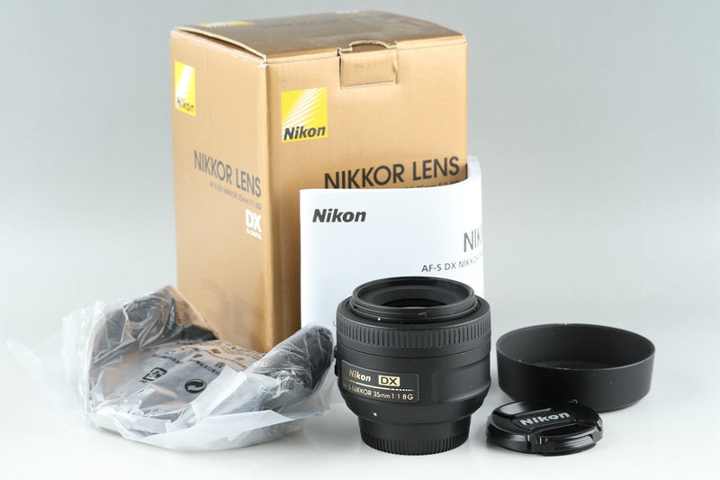 Nikon DX AF-S Nikkor 35mm F/1.8 G Lens With Box #20584
