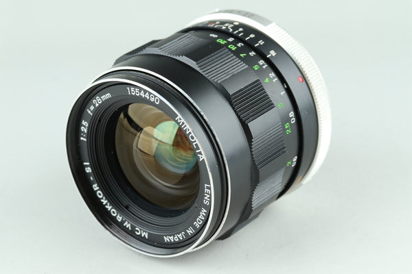 Minolta MC W.Rokkor-SI 28mm F/2.5 Lens for MD Mount #23524G1