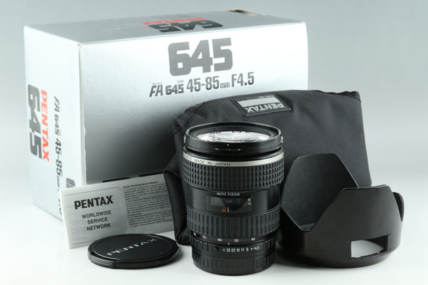 SMC Pentax FA 645 45-85mm F/4.5 Lens for Pentax 645 With Box #21871