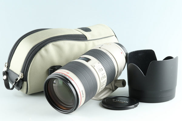 Canon EF 70-200mm F/2.8 L IS II USM Lens #26393F5