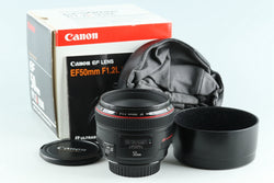 Canon EF 50mm F/1.2 L USM Lens With Box #26476