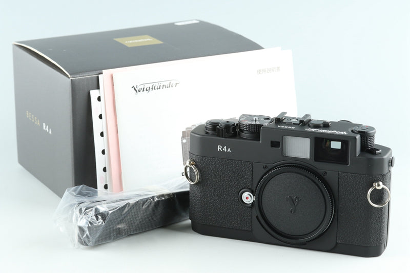 *New* Voigtlander Bessa R4A 35mm Rangefinder Film Camera With Box #26434
