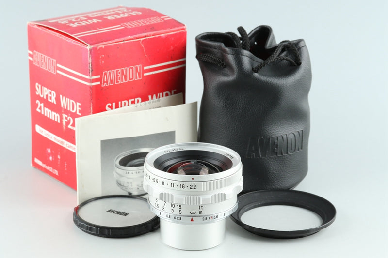 Avenon L 21mm F/2.8 Lens for Leica L39 With Box #26808