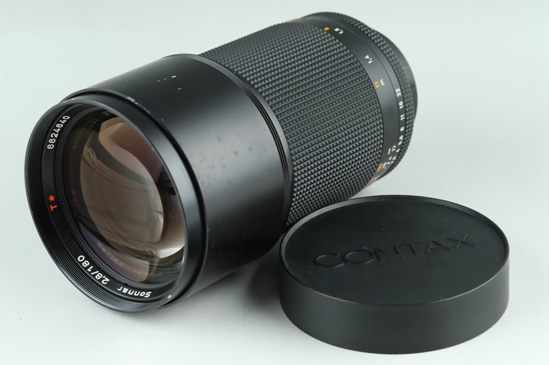 Contax Carl Zeiss Sonnar T* 180mm F/2.8 AEG Lens for CY Mount #23628A3