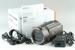 Sony FDR-AX45 Digital Video Camera With Box #23888