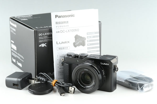 Panasonic Lumix DC-LX100M2 Digital Camera With Box #25680