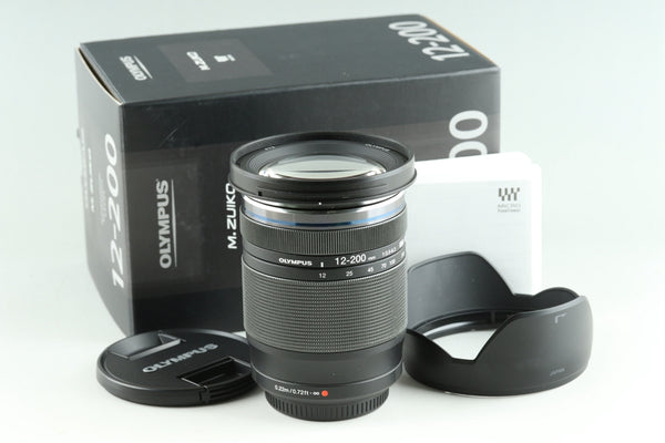 Olympus M.Zuiko Digital 12-200mm F/3.5-6.3 Lens for M4/3 With Box #25186
