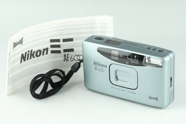 Nikon AF600 35mm Point & Shoot Film Camera #22779E6
