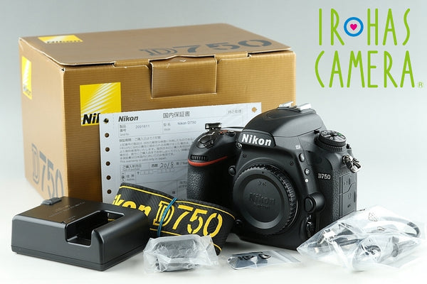 Nikon D750 Digital SLR Camera With Box*Shutter Count 2456* #17575