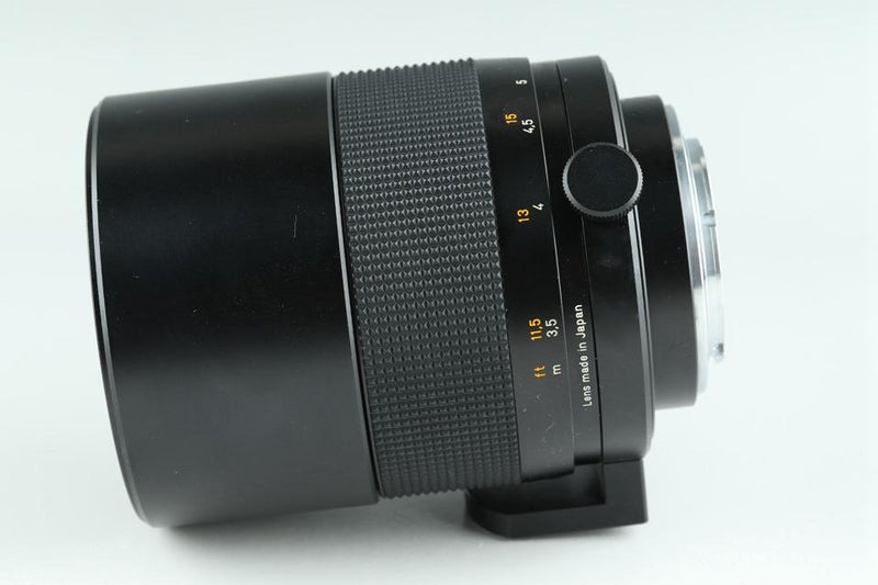 Contax Carl Zeiss Mirotar T* 500mm F/8 Lens for CY #18209#8/27