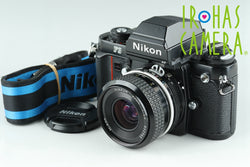 Nikon F3 HP 35mm SLR Film Camera + Nikkor 35mm F/2.8 Ai Lens #18507#18506