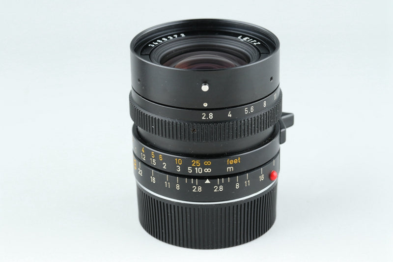 Leica Leitz Elmarit-M 28mm F/2.8 Lens for Leica M #18725#11/5