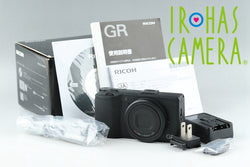 Ricoh GR Compact Digital Camera With Box #19433
