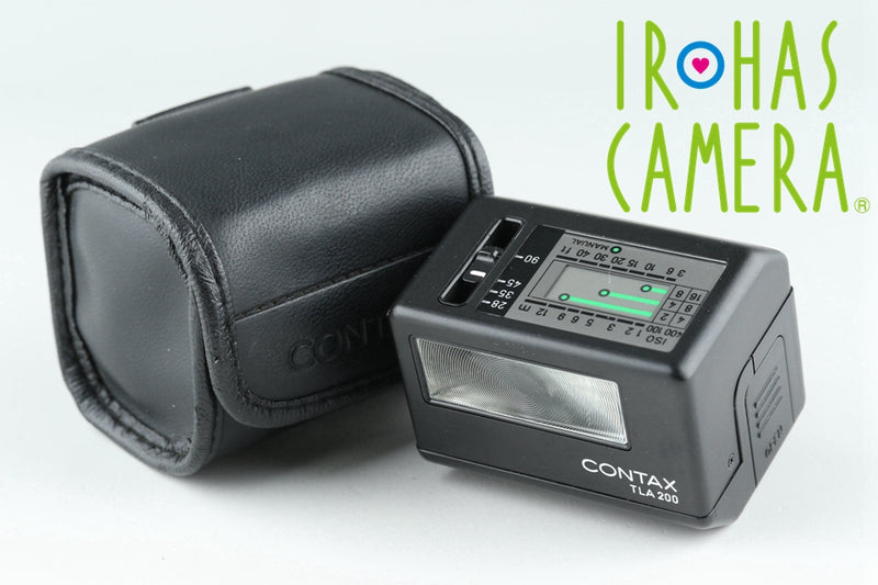 Contax TLA 200 Shoe Mount Flash In Black #19533F3