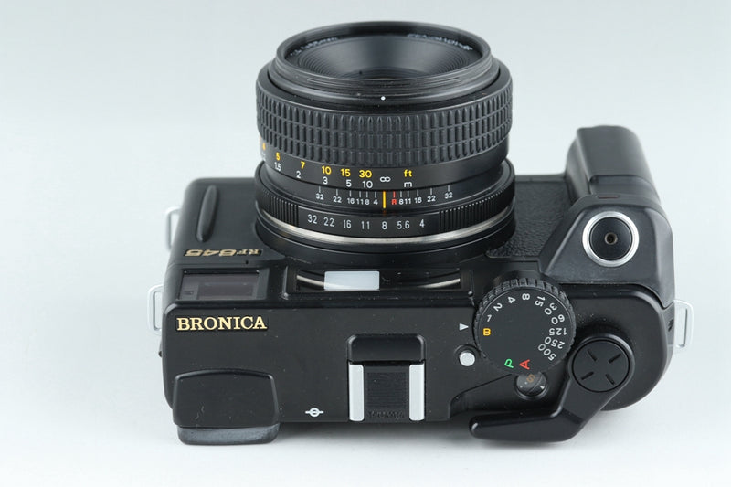 Bronica RF645 Medium Format Film Camera + Zenzanon RF 65mm F/4 Lens #19567E3