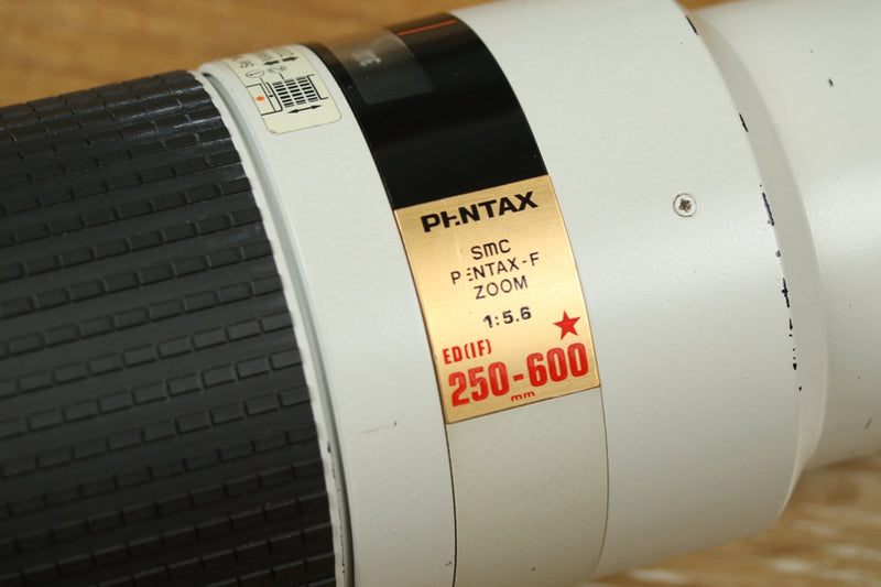 SMC Pentax-F Zoom 250-600mm F/5.6 ED IF Lens for Pentax K #20146
