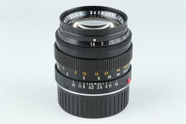 Leica Leitz Summilux 50mm F/1.4 Lens for Leica M #20255C1