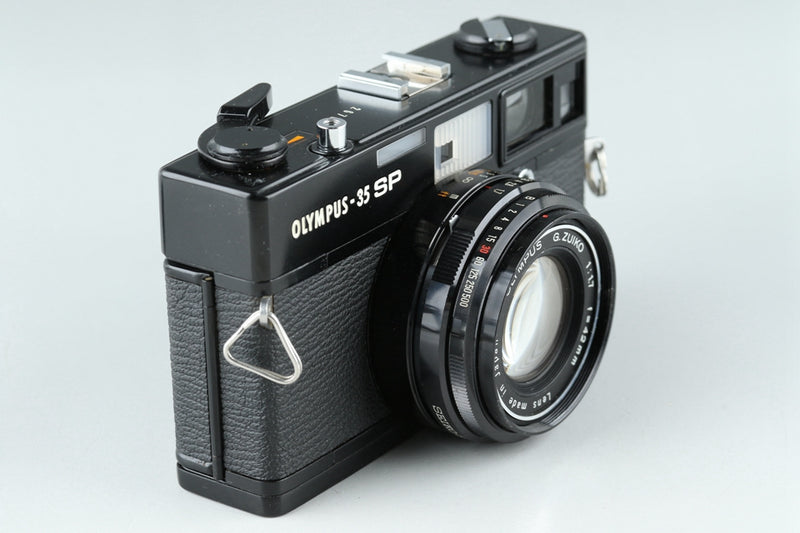 Olympus 35 SP Black 35mm Rangefinder Film Camera #20340D4