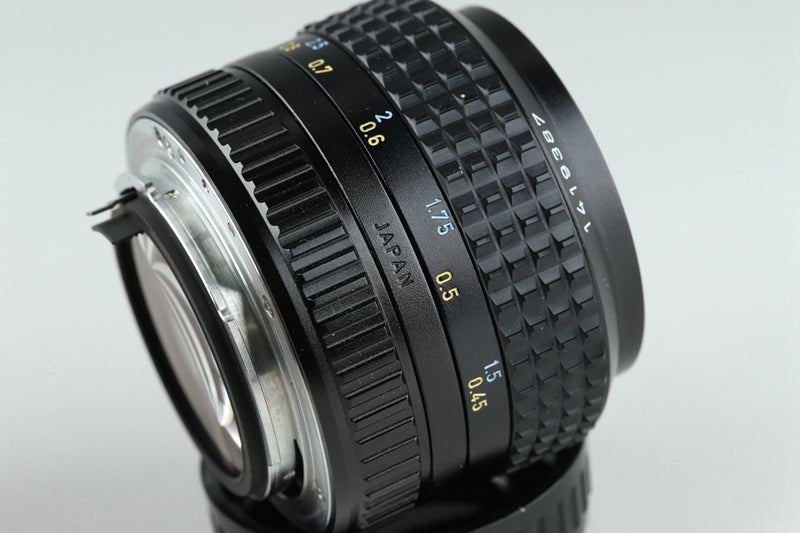 SMC Pentax-A 50mm F/1.2 Lens for Pentax K With Box #20427F2