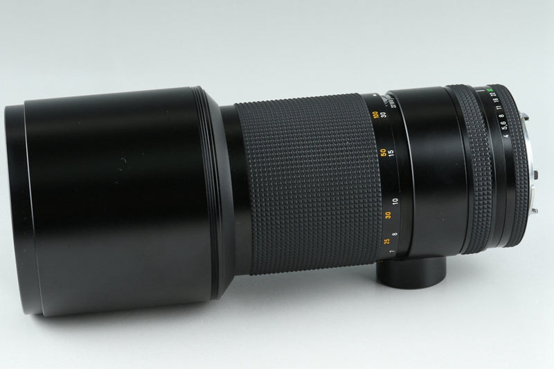 Contax Carl Zeiss Tele-Tessar T* 300mm F/4 MMJ Lens for CY Mount #20523F6