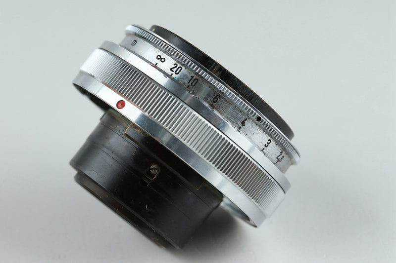 Contax T Zeiss-Opton 35mm F/2.8 Biogon For Contax III#20561A1