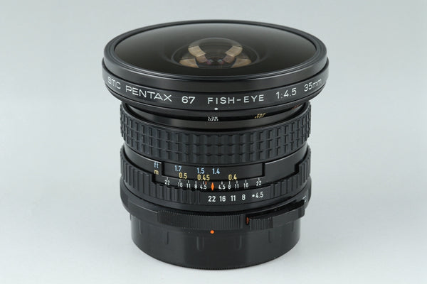 SMC Pentax 67 Fish-Eye 35mm F/4.5 Lens for Pentax 67 67II #20737C3