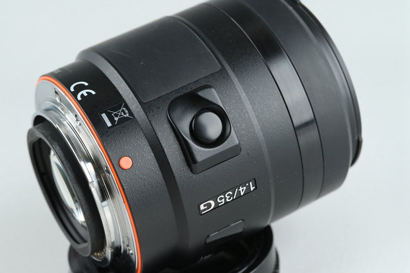 Sony G 35mm F/1.4 Lens for Sony AF #20767F5