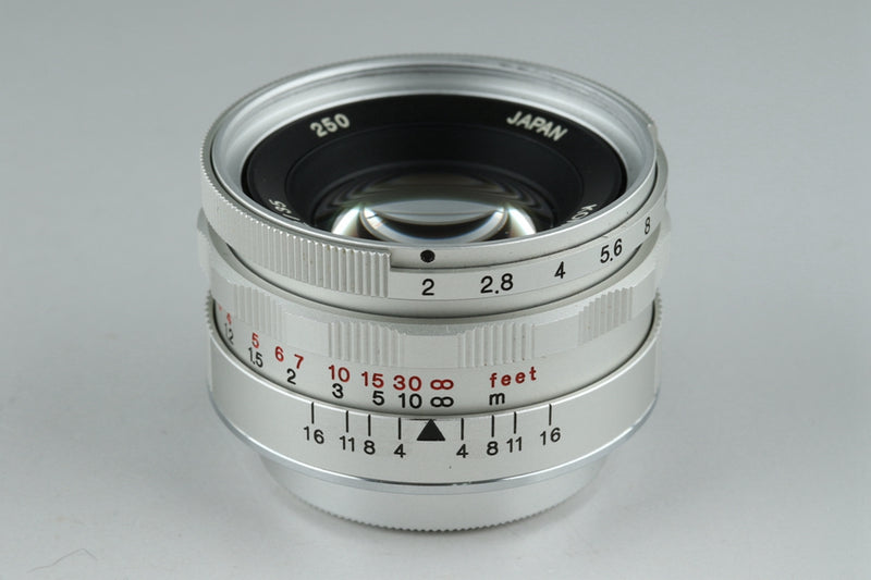 Konica Hexanon 35mm F/2 Lens for Leica L39 With Box #20941F2
