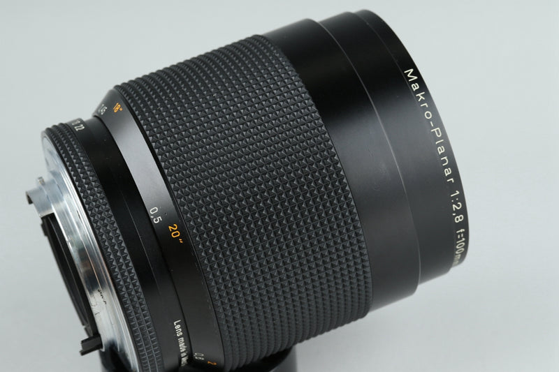 Contax Carl Zeiss Makro-Planar T* 100mm F/2.8 AEG Lens for CY Mount #20969A2